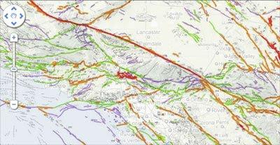 Maps Mania California State Geologic Maps - California geologic map