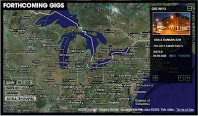 Oasis Tour Map