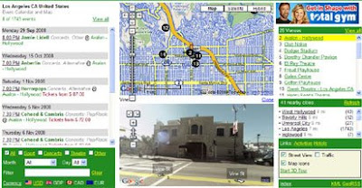 map channels events screenshot