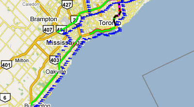 mto road conditions map