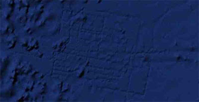 ... But The Sun Also Claimed In February To Have Found Atlantis On Google  Maps. They Claimed The Lines In The Image Below Were The Walls Of The Lost  City.