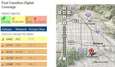Maps Mania: Digital TV Transition Google Map on