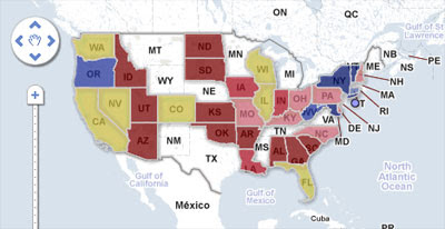 Maps Mania Midterm Elections Google Map - Google-us-election-map