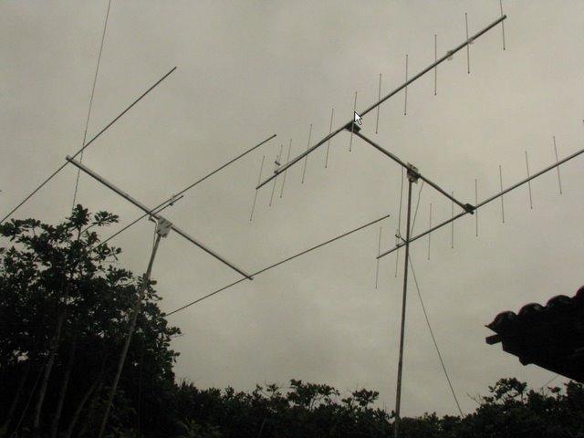 Antenas de VHF : 50  e  144MHz