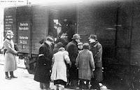 גירוש ברכבת- ארכיון בית לוחמי הגיטאות