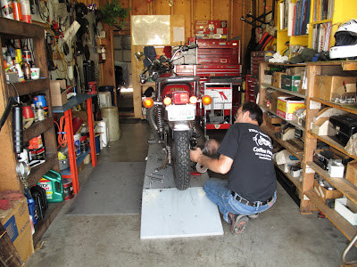 how to tell how old a motorcycle tire is