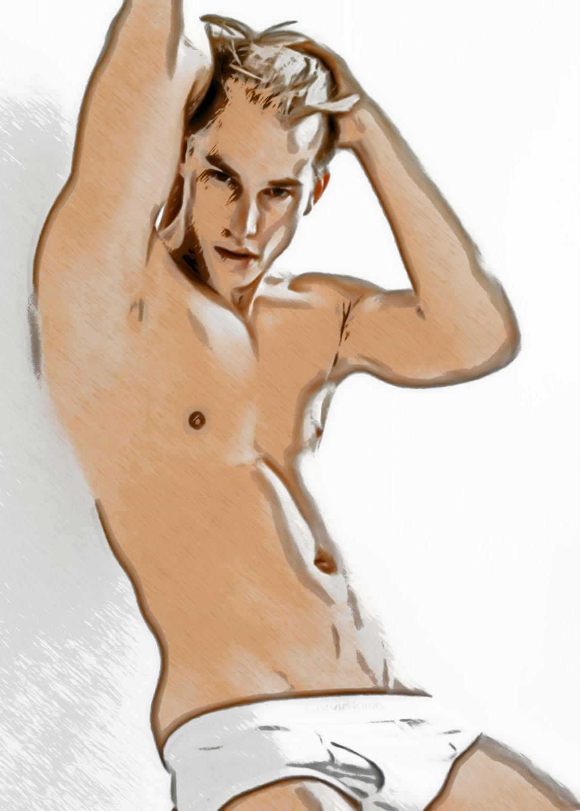 Beautiful Male Sketch