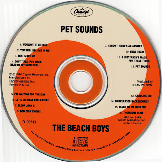 The Beach Boys Pet sounds imagen del cd