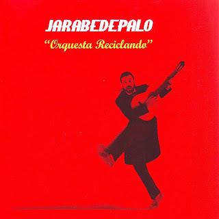 Jarabe De Palo Orquesta Reciclando caratula nuevo disco, tapa cd, portada, sleeve, cover