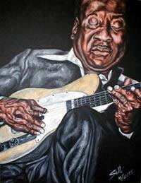 Muddy Waters, ilustración, fotografía, caricatura, biografía, caratuleo