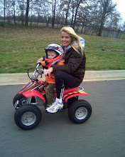 4 wheeling with MOMMY