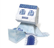 rommy small house paper toy