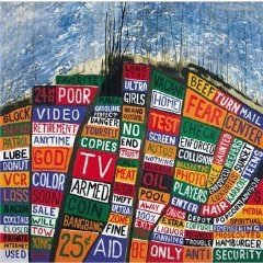 Radiohead - Hail To The Thief (album cover)