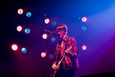 Pavement live photo (Credit: Akmal Naim/Pitchfork.com