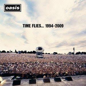 Time Flies 1994-2009 (Oasis album cover)
