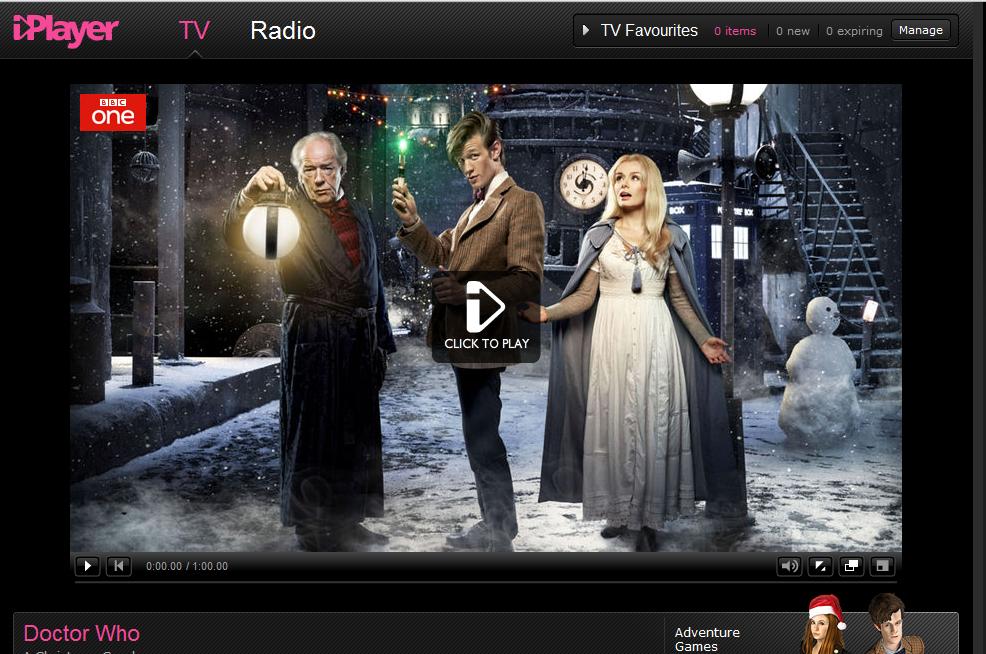 christmas carol bbc drama