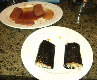 Spam musubi by Peter