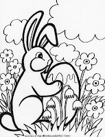 easter flower coloring sheets