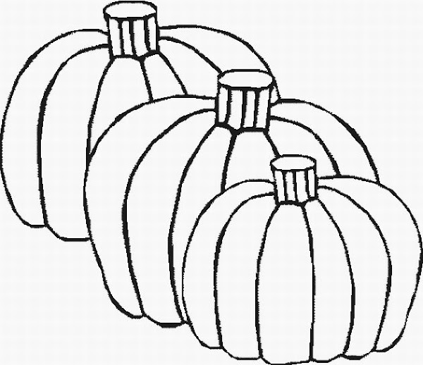 Fall Pumpkin Coloring Pages Printable