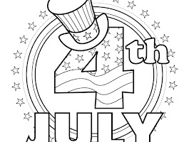 Free 4th Of July Coloring Pages For Kids