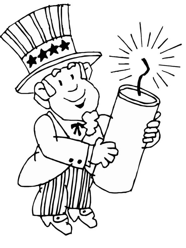 free printable 4th of july coloring pages - free coloring pages july 2010