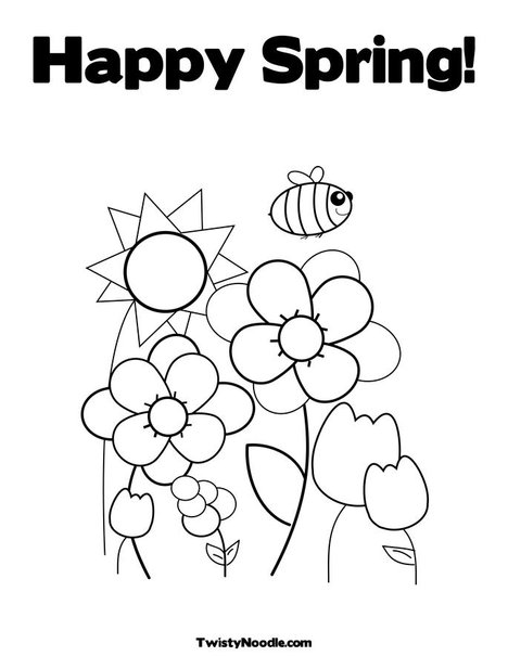 coloring pages of flowers and butterflies. Let your child color the bunny