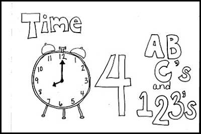 New Year Countdown Coloring Pages