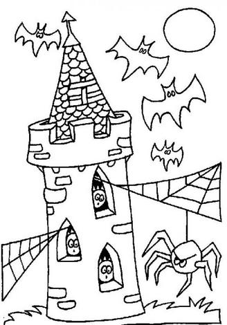 Halloween Coloring on Free Coloring Pages  Halloween Coloring Pages  Free Halloween Activity
