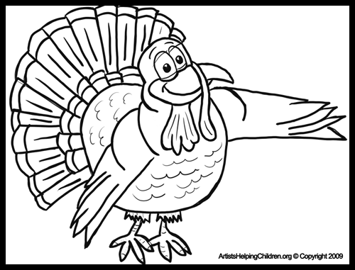 Free Thanksgiving Coloring Sheets For Kids
