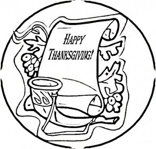 Happy Thanksgiving Coloring Printables