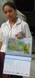 Catherine Limpy Rojas, ganadora de Rioja