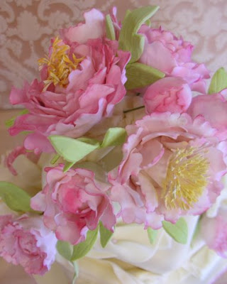 It seems that our brides are in love with peonies this spring This wedding