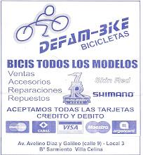 DEFAM-BIKE BICICLETAS