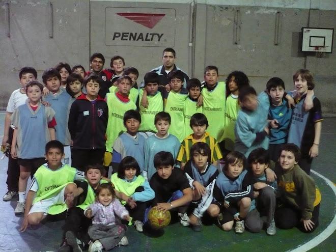 AMISTOSO SPORTIVO BARRACAS / ESCUELITA CEF 3
