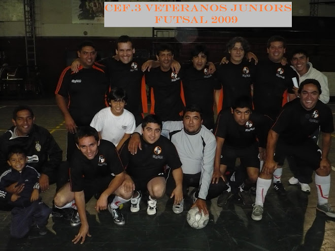 CEF 3 VETERANOS JUNIORS 2009