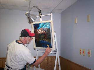Don Belik Bob Ross Painting Classes Hobby Lobby Class Autumn Day 5