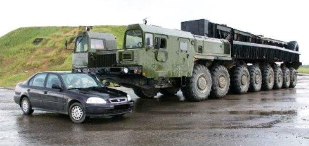 veicoli pesanti volat  biellorussia BigMZKT-79221