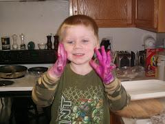 Purple Hand Monster