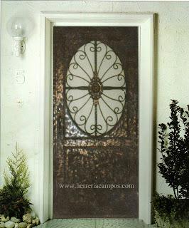 Herreria campos puerta rustica for Puerta 7 campo de mayo