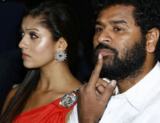 nayan thara and prabhu deva