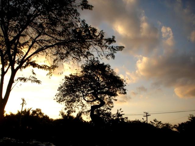 Parque Areião em Goiânia- por-do-sol