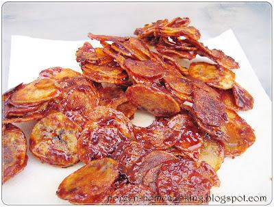 My Home Cooking Blog Kerepek Ubi Kentang