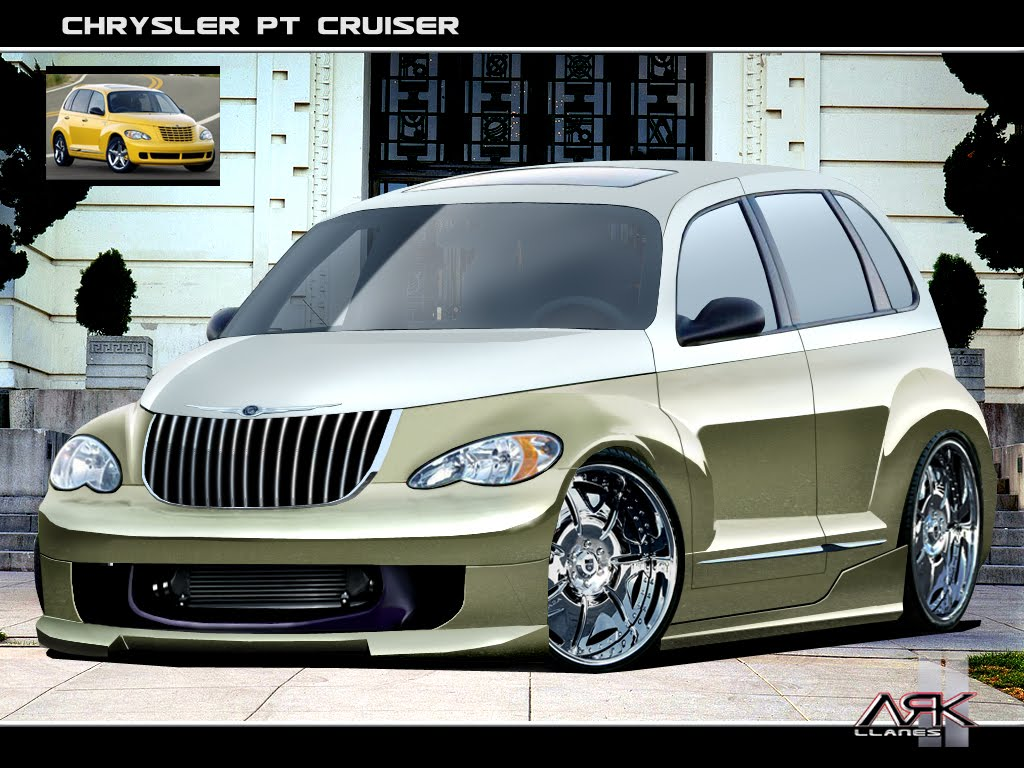 virtual tuning design by ark llanes chrysler pt cruiser. Black Bedroom Furniture Sets. Home Design Ideas