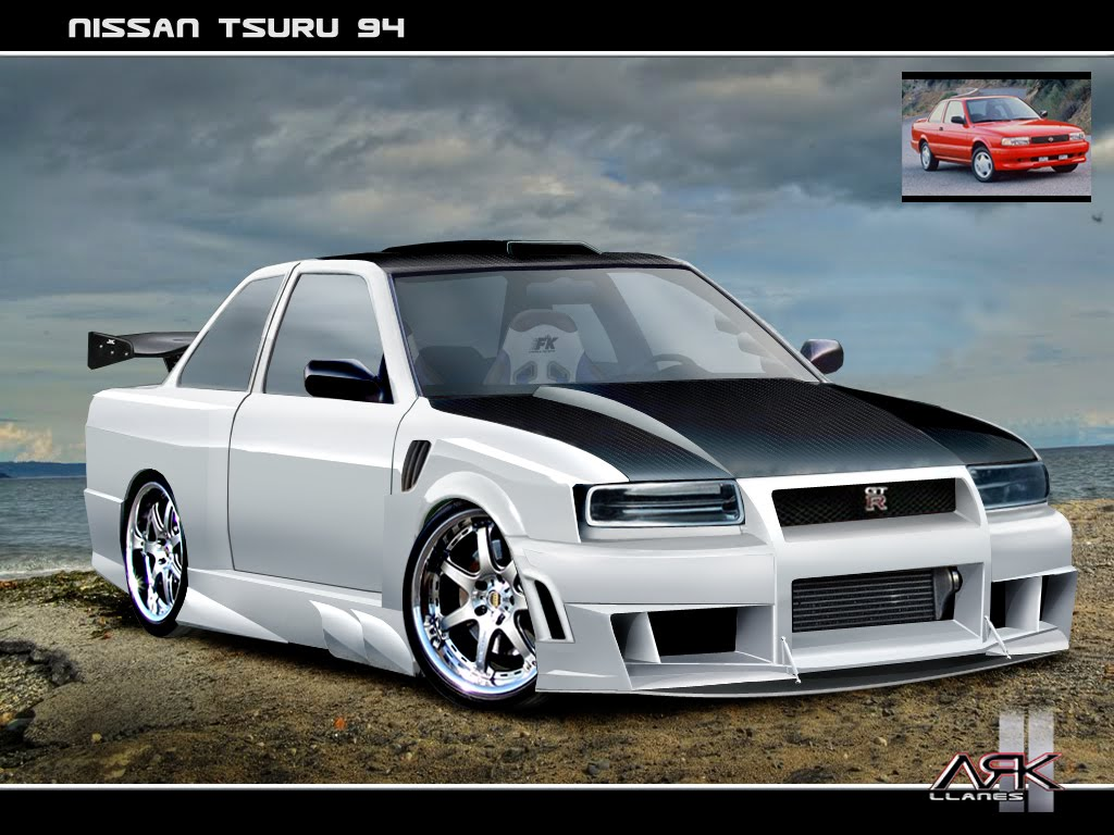 Virtual Tuning Design By Ark Llanes Nissan Tsuru