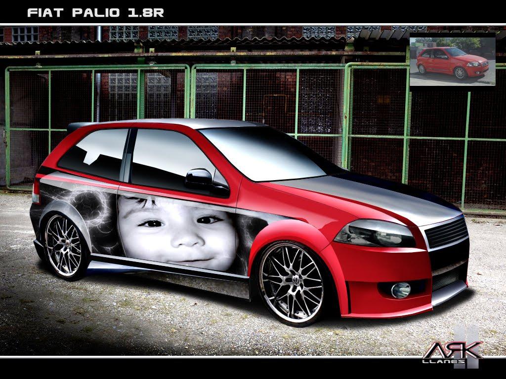 Virtual Tuning Design By Ark Llanes Fiat Palio 1 8r