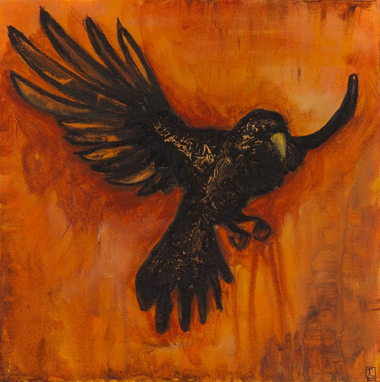 New Crow Painting – ...