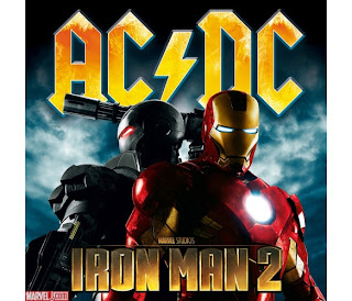 Iron Man 2, Movie, Soundtrack, cd, cover