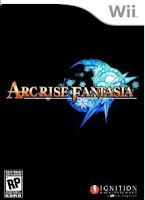 Arc Rise Fantasia, nintendo, wii, game, video