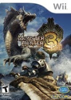 Monster Hunter Tri, nintendo, wii, game, cover, box, art