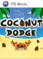 Coconut Dodge, box, art, screen, image, psp, sony, game